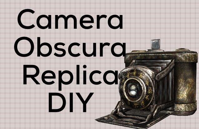 Camera Obscura Replica DIY | Fatal Frame Amino