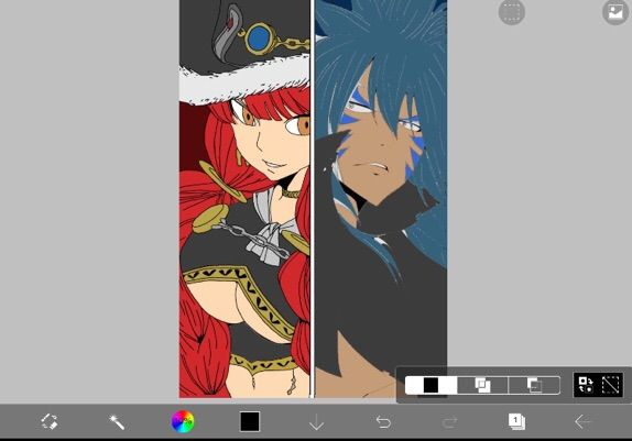 Eileen VS Acnologia Manga Coloring   Fairy Tail Amino