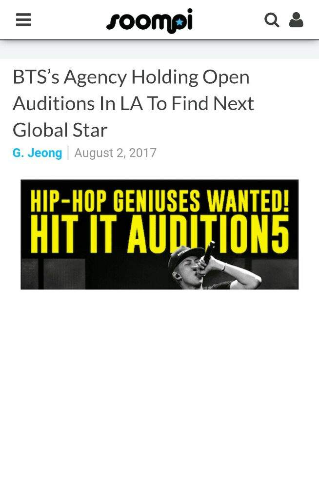 BigHit Audition in LA! | ARMY's Amino