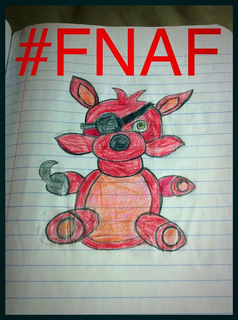 My Foxy Plush Drawing Five Nights At Freddy S Amino