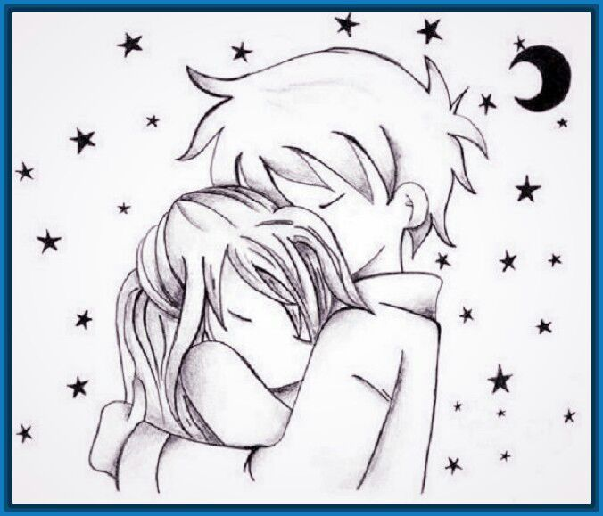 Imagen Imagenes De Amor En Anime Para Dibujar Archivos
