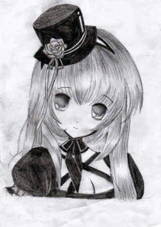 Imagen Bonitos Dibujos De Animes A Lápiz De Amor Anime Amino