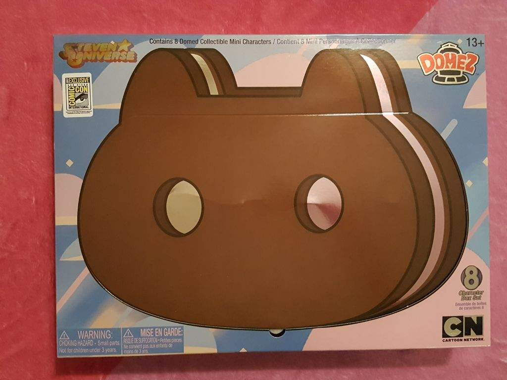 Or If You Had Access To San Diego Comic Con Merchandise There Was A Special Set Of Them Where Could Get All At Once In Pretty Shiny Cookie Cat