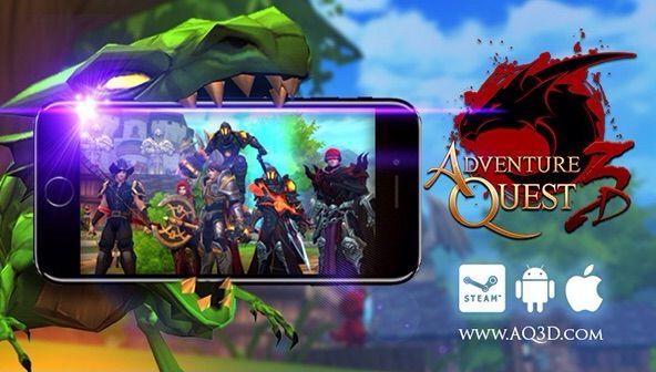 AQ3D Update!   Adventure Quest 3D Amino Amino