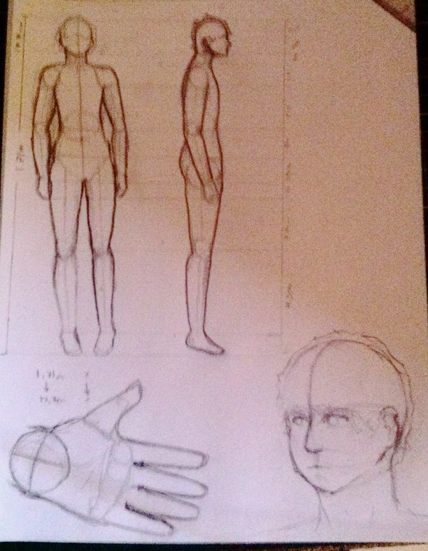Practica: dibujando anatomia humana xd | ⚫Arte y Dibujo Amino ...