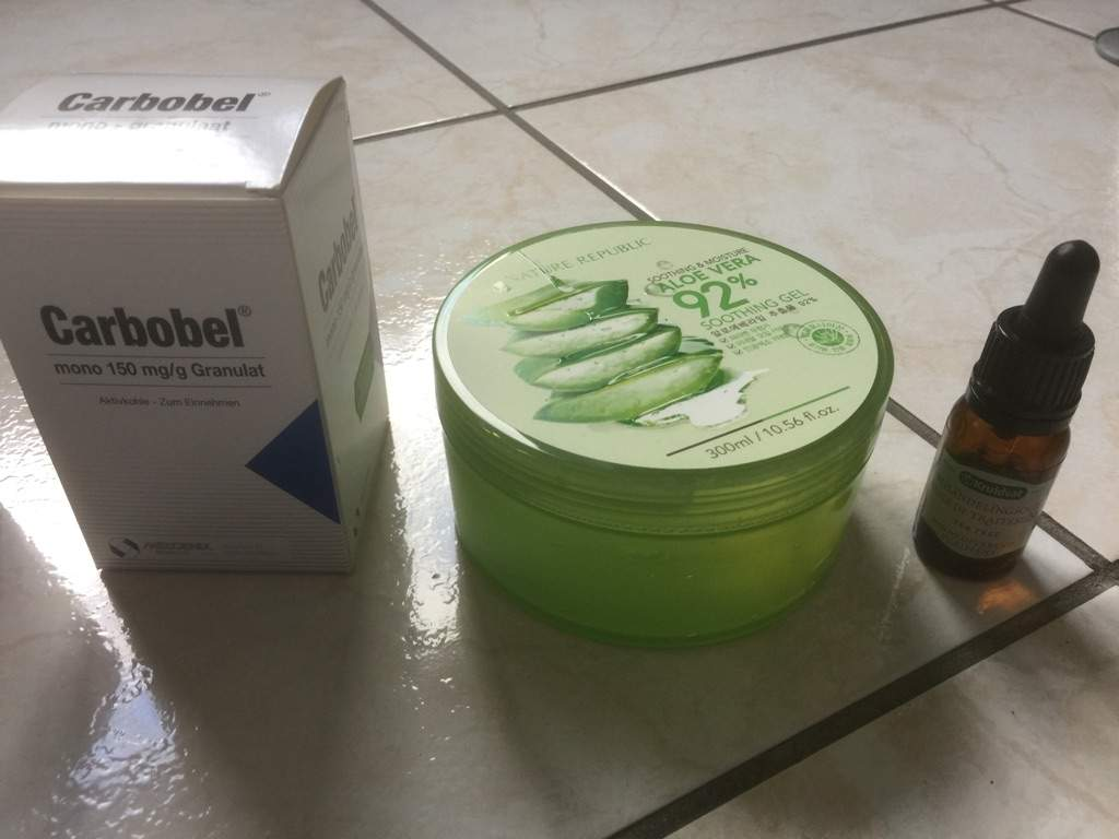Diy Charcoal Aloe Vera Mask Korean Beauty Amino K Jeju Fresh Shooting Gel Nature Republic Soothing Tea Tree Oil You Can Buy This At Any Drugstore Or Pharmacist Essentials