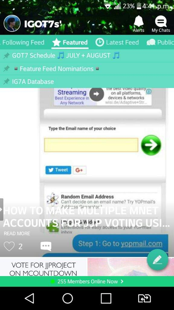 HOW TO MAKE MULTIPLE MNET ACCOUNTS FOR JJP VOTING USING