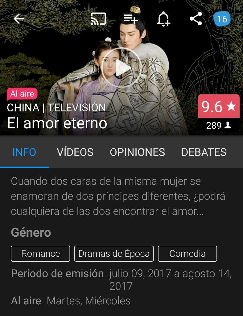 Amor Eterno Recomendando En Emisión K Drama Amino