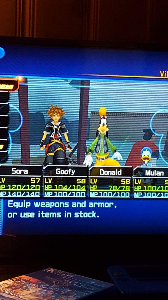 Sepiroth Battle Kh2 Kingdom Hearts Amino