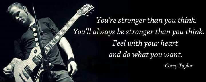 Corey Taylor Quotes Metal Amino Fascinating Slam Metal Quotes