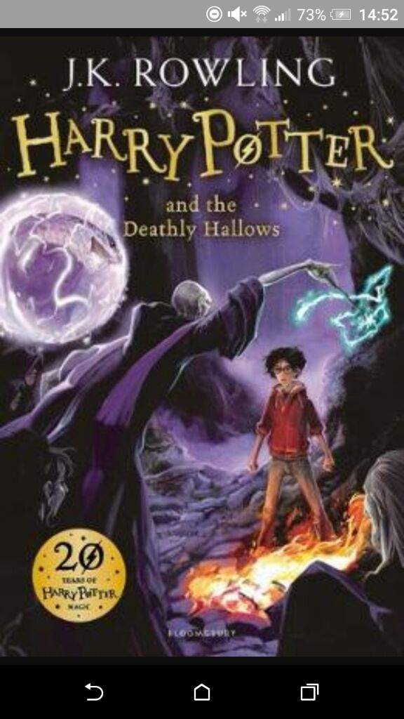 my favorite book is harry potter