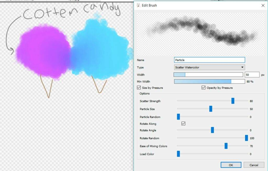 Image result for firealpaca cloud brushes t