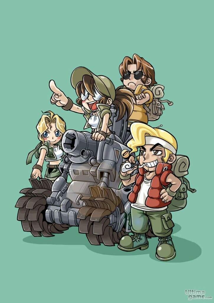 Saga Metal Slug Colaboración Amigos Animes Y