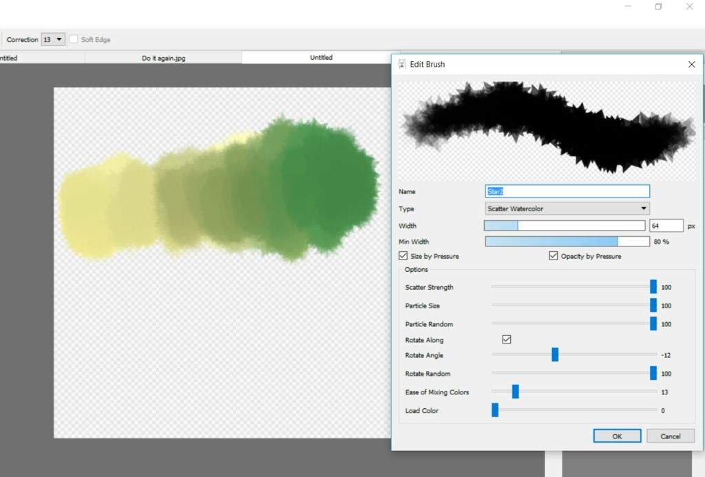 Making Use Of Default Firealpaca Brushes | Animation Art +