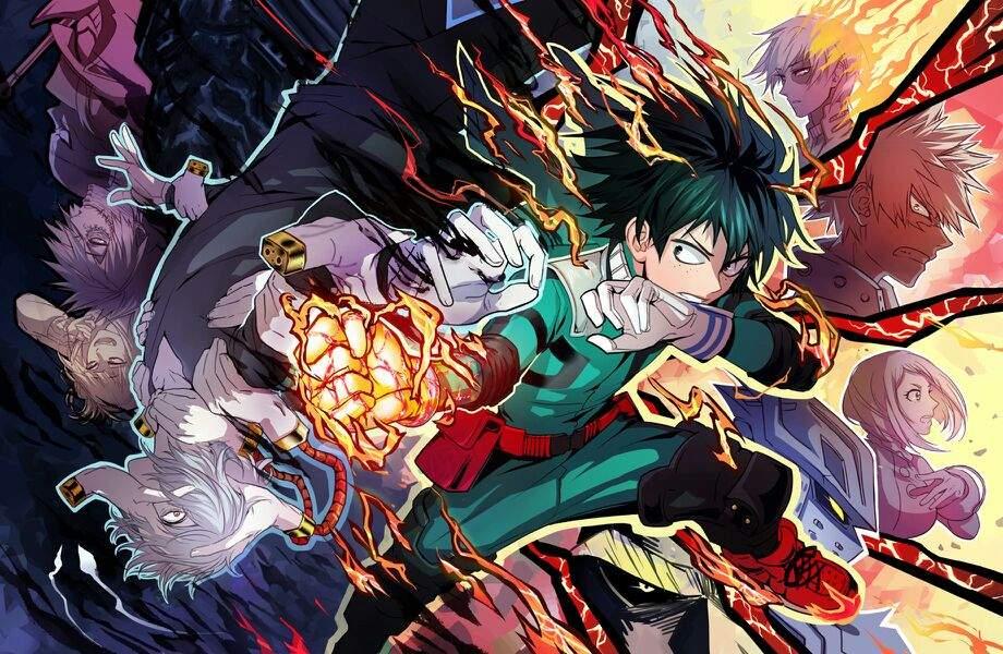 Fondos de pantalla de anime shonen