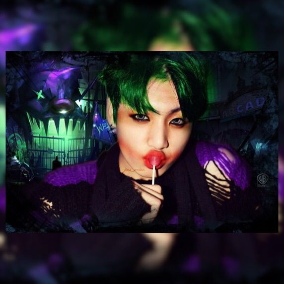 Jungkook as The Joker (Edit)   ARMY's Amino