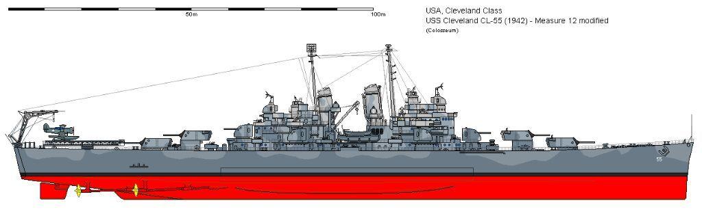 Cleveland Class Cruiser Wiki Military Amino Amino