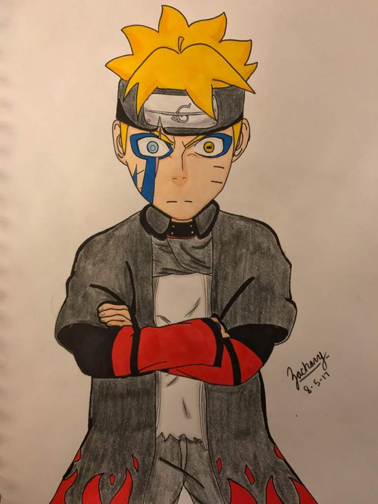 Boruto Jougan Sage Mode Anime Wallpapers