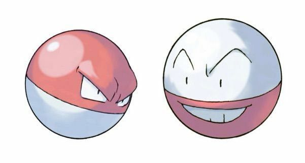 voltorb and electro are some of the easiest pokemon to draw