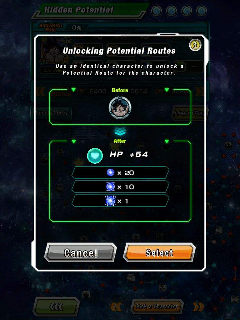 I unlocked all spirit bomb goku's potential routes! | Dokkan Battle
