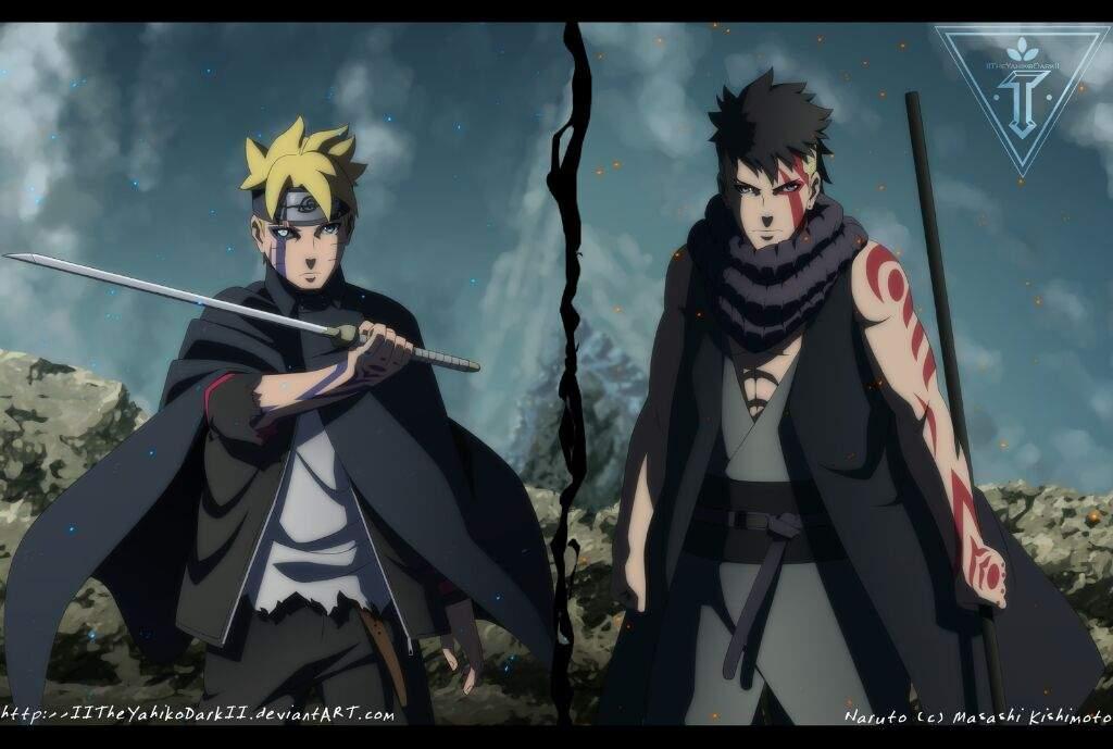 Kawaki S Staff Chakra Rod Naruto Amino