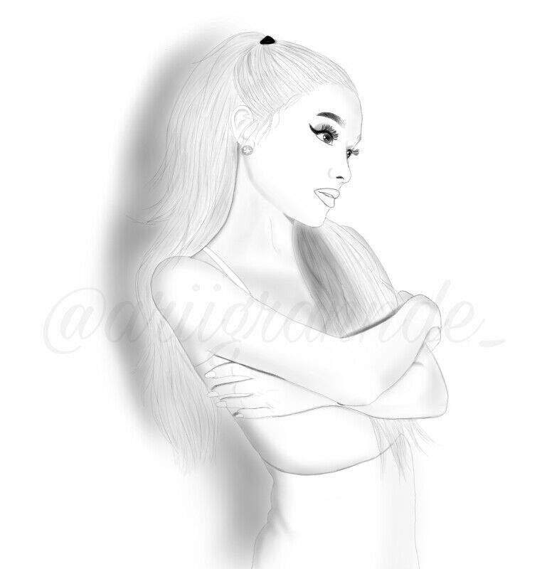 f3086ead9 Focus Fanart (2017) | Ariana Grande Amino