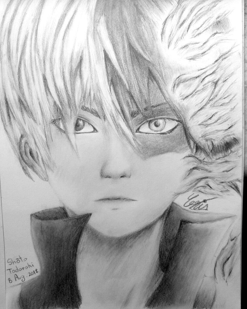 Shoto Todoroki Drawing Art Amino