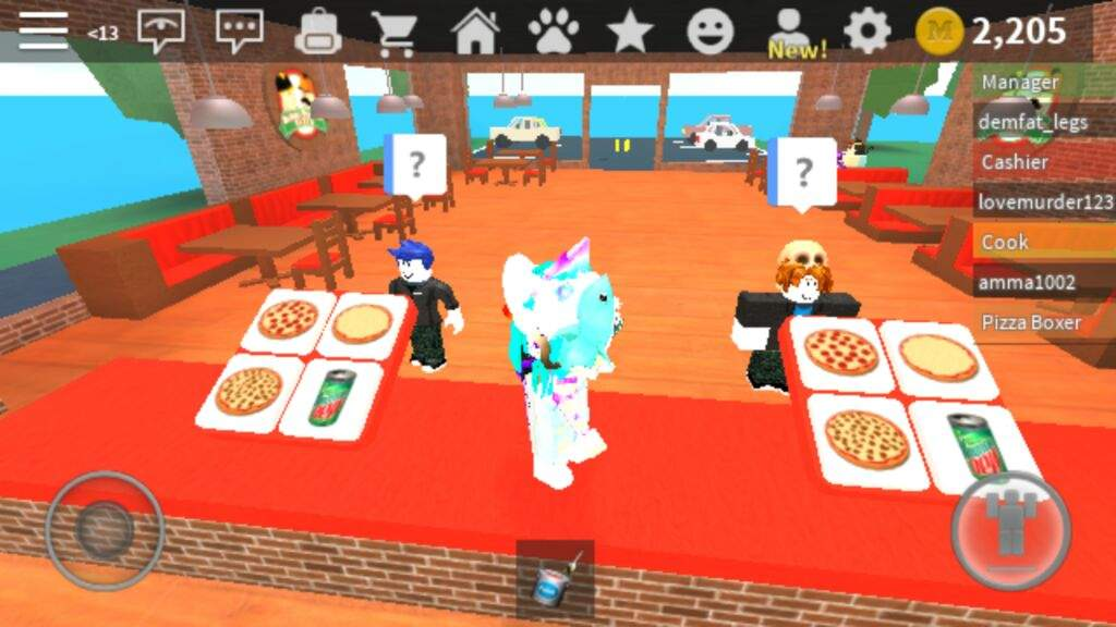 Omg Guest 666 He Is On Work At A Pizza Place In Roblox