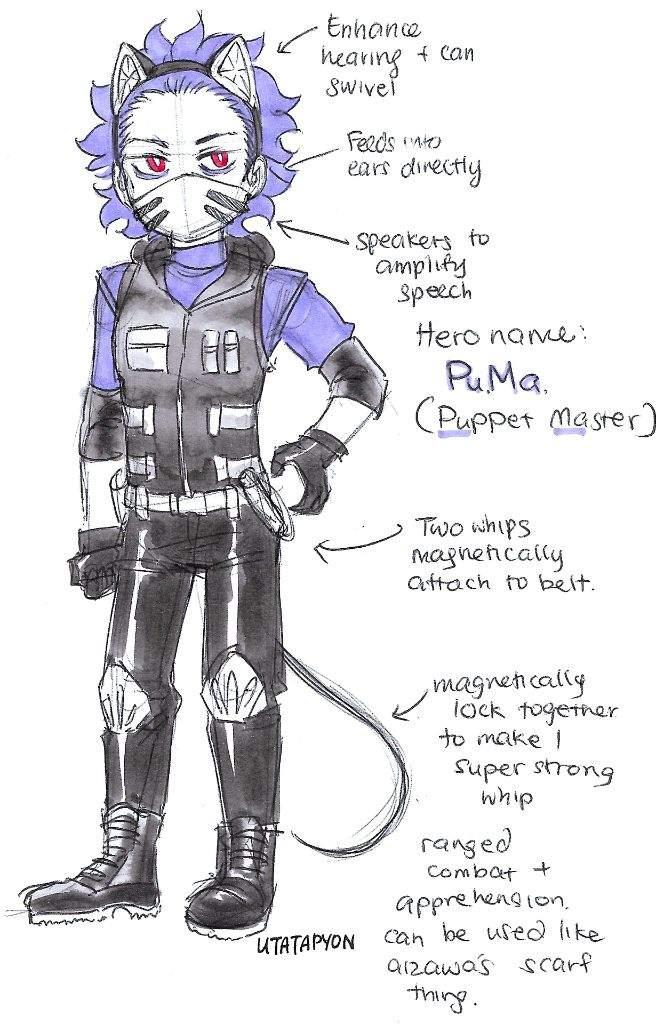 Shinsou S Hero Costume Bnha Amino Amino