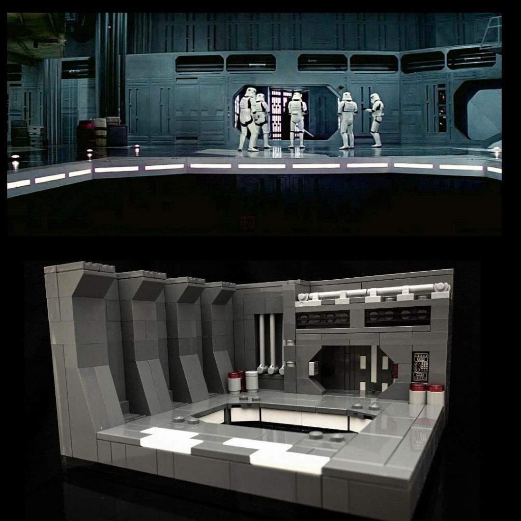 Death Star Hanger Micro Star Wars Amino