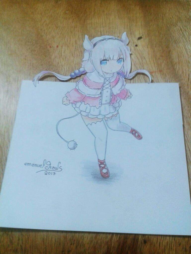 Dibujo De Kanna Tipo 3d Dibujarte Amino