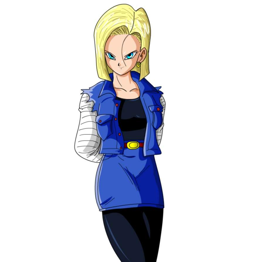 Lazuli android 18 wiki dragonballz amino - Dragon ball z c18 ...