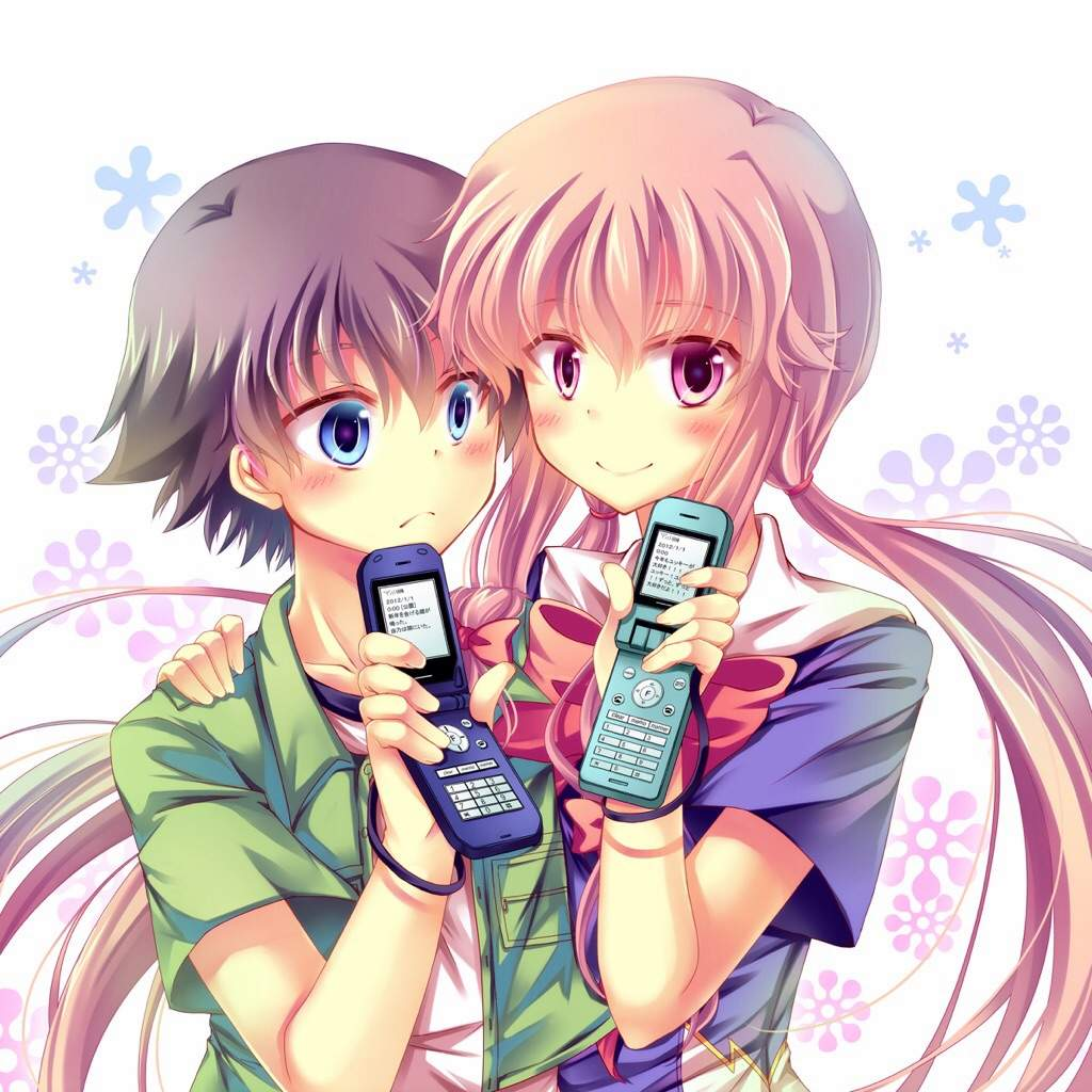 diary Mirai and yuki nikki yuno future