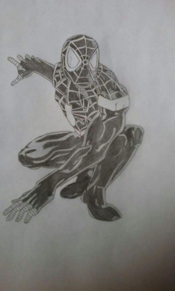 Mi Dibujo De Spiderman Miles Morales Marvelesa Amino