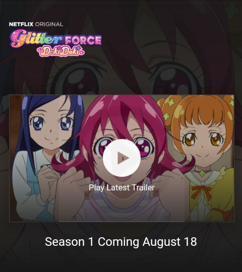 news glitter force dokidoki trailer glitter force and precure amino