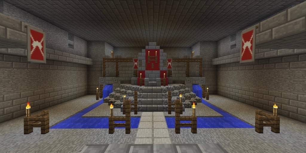 how to make a large portcullis in minecraft