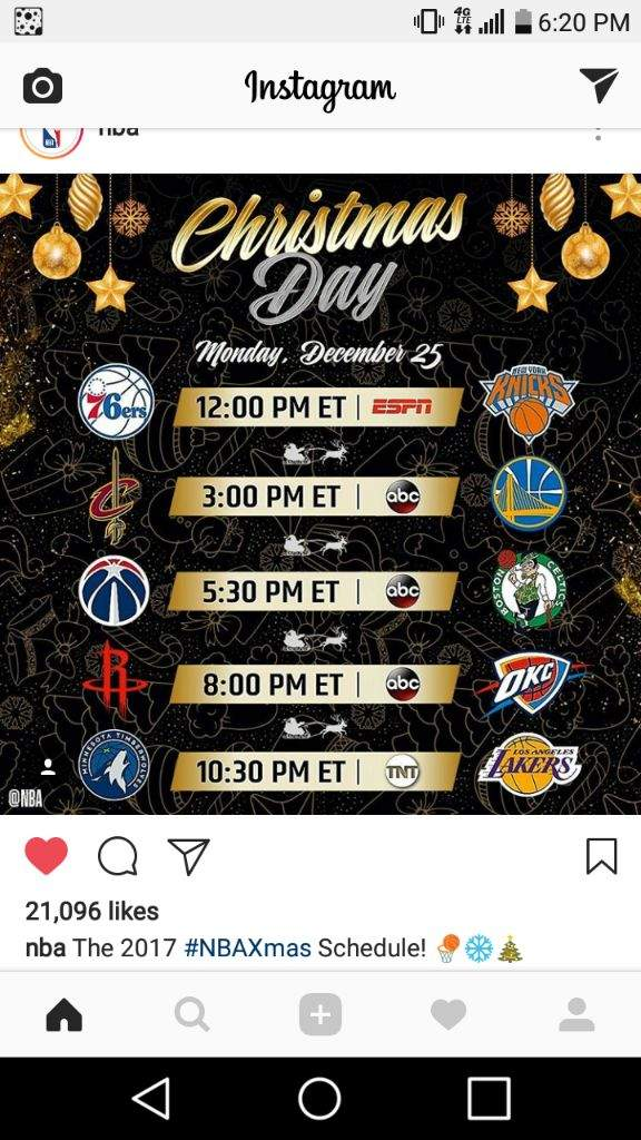 so what are you most excited about this christmas im excited about the cavs vs warriors matchup - Christmas Day 2018