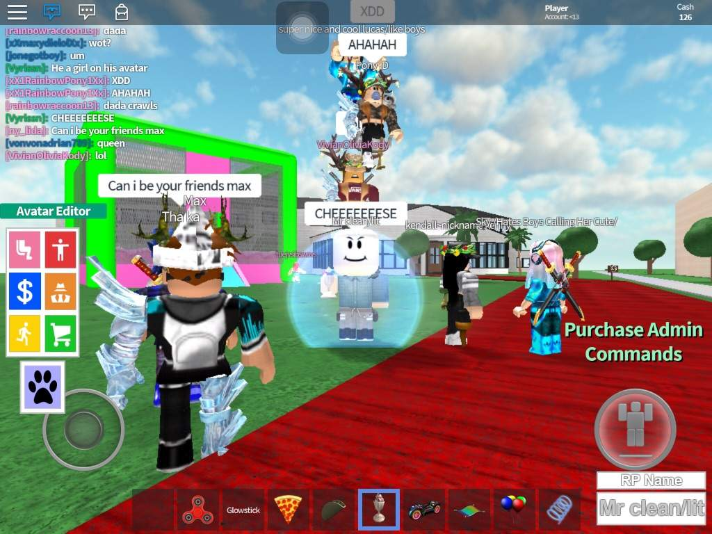 With my new friend   Roblox Amino