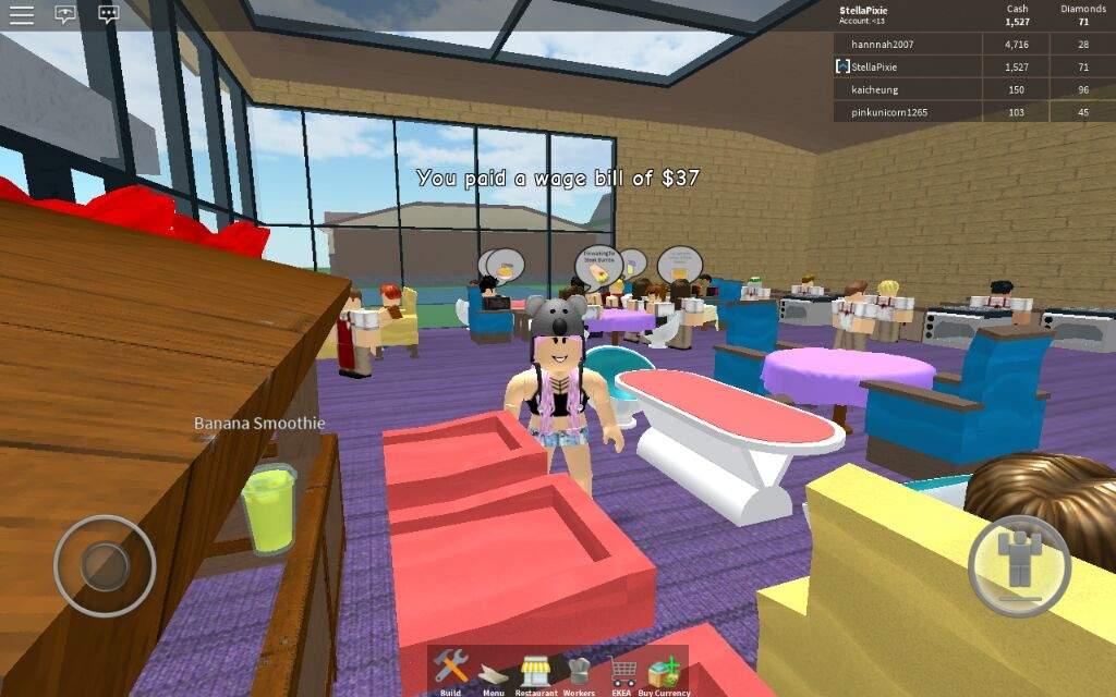 I'm on restaurant tycoon  XD | Roblox Amino