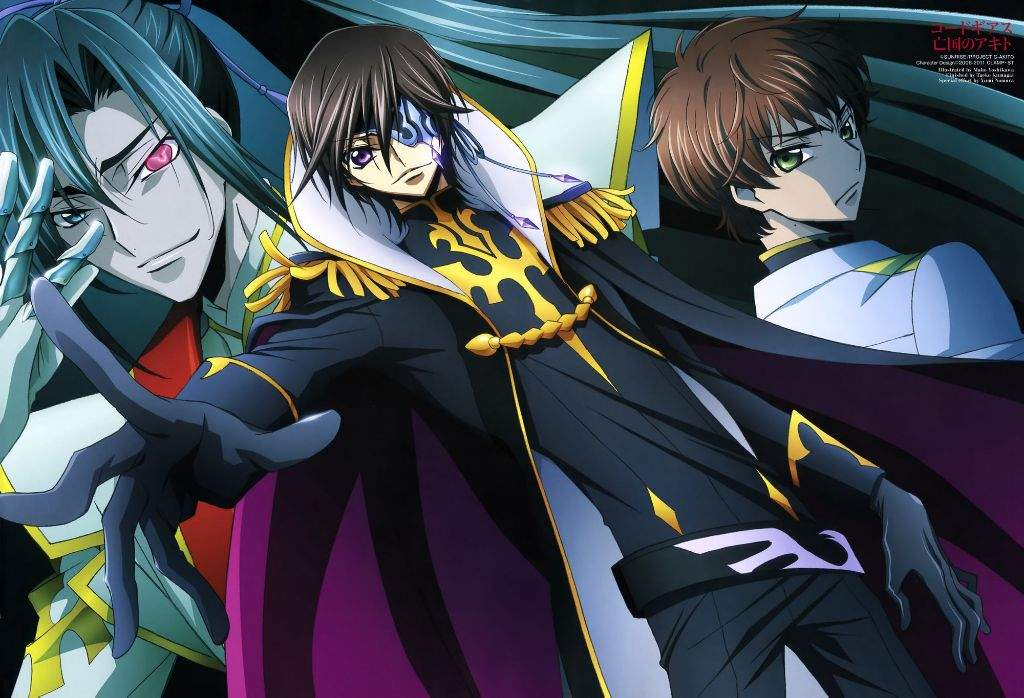 CODE GEASS R3' SEASON 3 RELEASE DATE FOR 'LELOUCH OF THE