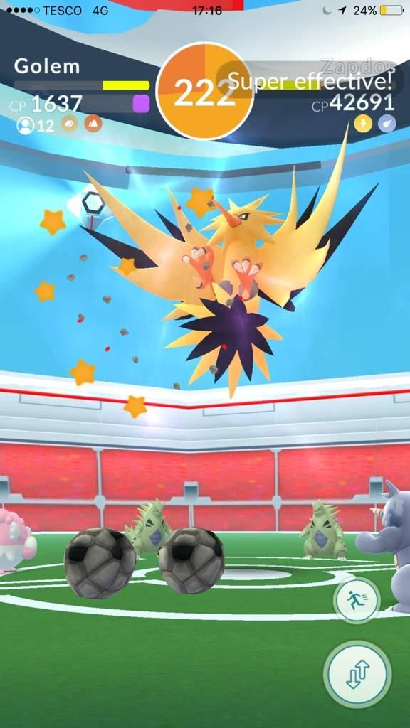 how to catch zapdos pokemon go