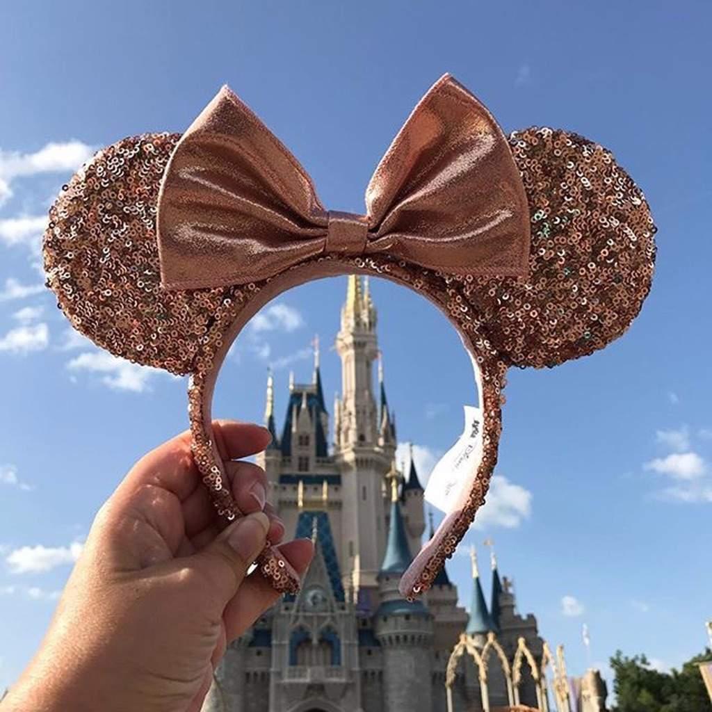 MugsDisney Disneyland Minnie Starbucks Ears Gold Mouse And Rose f7g6Ybyv