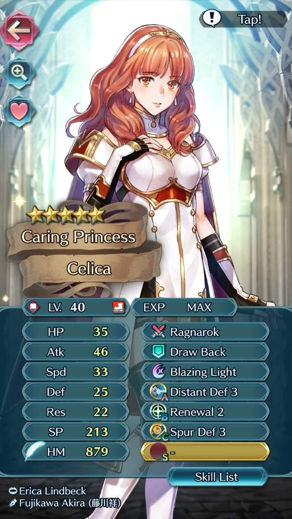Celica Is An Extremely Strong Unit Before Skill Inheritance With The Ragnarok Tome And Distant Defence For Her B Use Renewal 2 3 Which Ever More