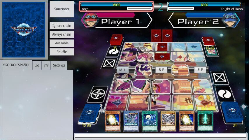 YGOPRO (Link Format) - Tag Force Special Texture | Yu-Gi-Oh! Español