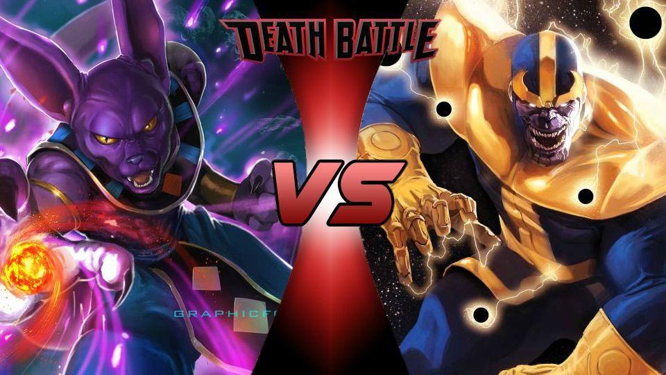 Goku Vs Thanos: Thanos Vs Beerus (Marvel Vs DBZ)