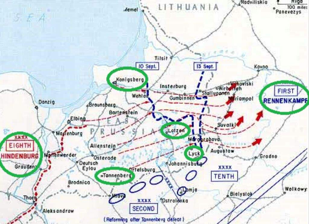the battle of tannenberg and masurian The battle of tannenberg was the first major battle in world war i on the eastern front it pitted the forces of russia against those of germany the major battle was preceded by a much more minor affair at gumbinnen which had a great influence upon the course of the campaign.