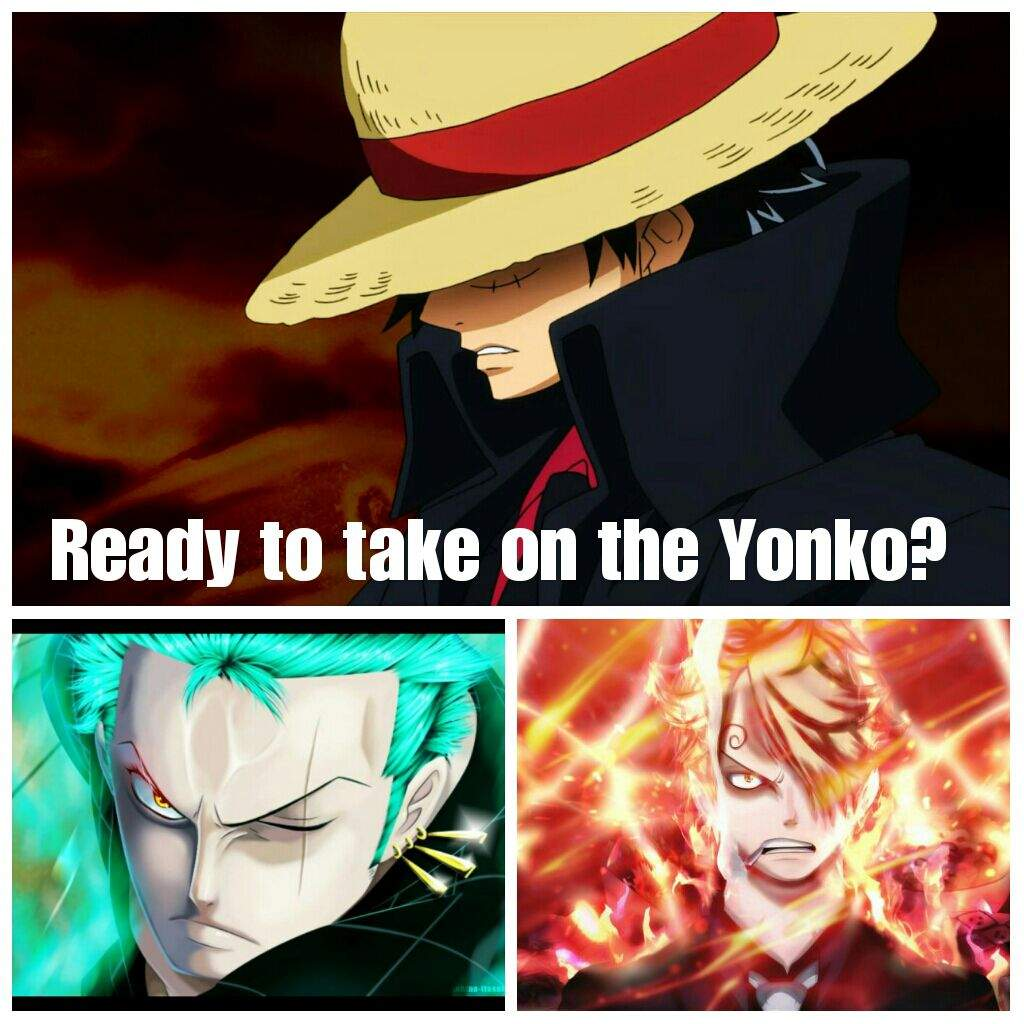 7 One Piece Characters Who Can Defeat A Yonkō: The Monster Trio Vs The Yonko!!!