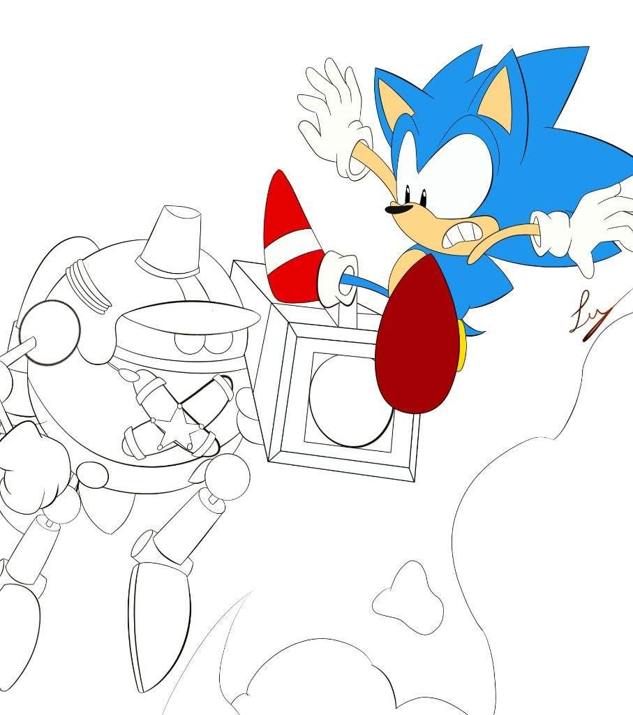 🎮Sonic Manía🎮 [Fan Art]   Sonic the Hedgehog Español Amino