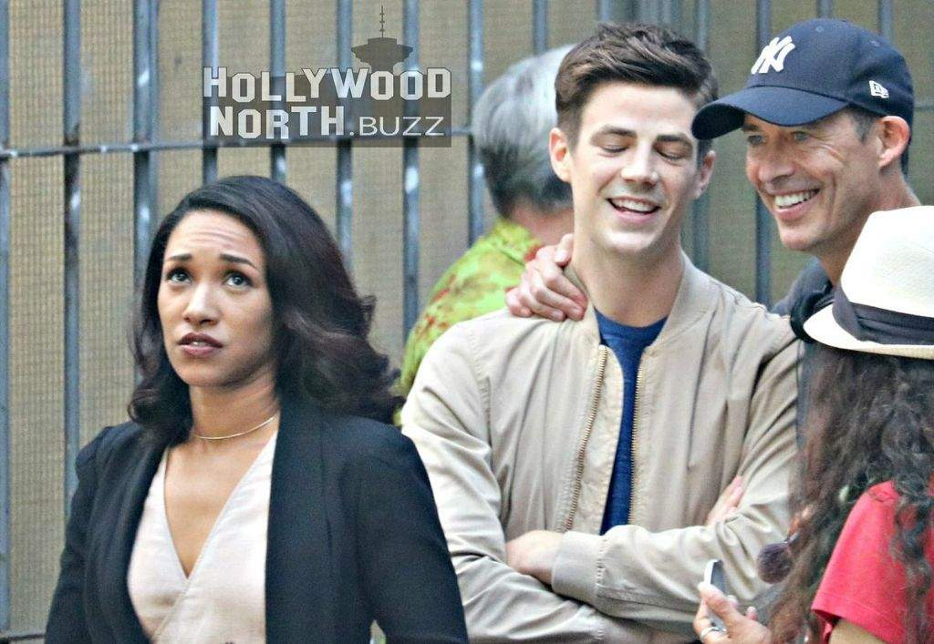 Behind the scenes/WestAllen/The Flash Season 4 | The Flash Amino
