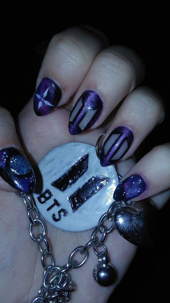 Bts New Logo Nail Art Armys Amino